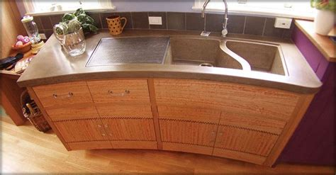 cement kitchen sink concrete kitchen sink for the home