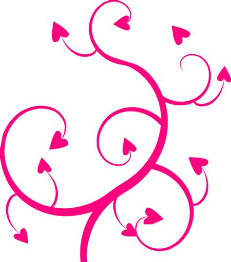 Swirl L by Pink Swirll Clip At Clker Vector Clip