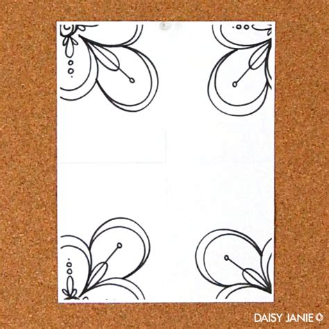 Make Paper Design - janie how to create a basic design repeat on paper