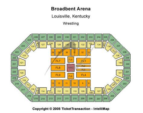 broadbent arena seating chart concert venues in louisville ky concertfix