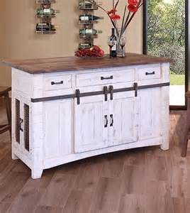 nice Antique Metal Cabinets For The Kitchen #8: artisan-pueblo-kitchen-island-4.jpg