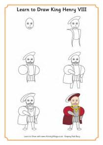 website where you can draw learn to draw king henry viii