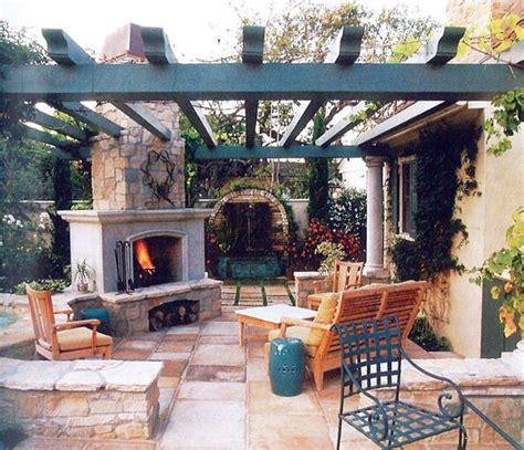 fireplace pergola patio sunset patio book outdoor