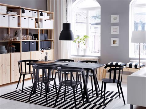 contemporary workspace by day space for dining with
