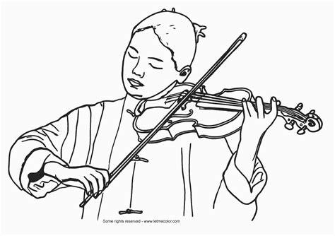 coloring pages violin music letmecolor