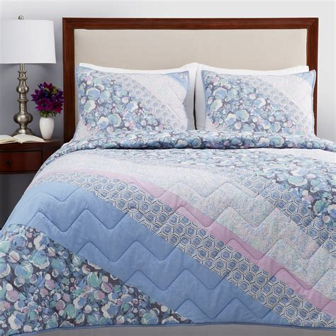 twin bed quilts sky bedding audra twin quilt blue lavender msrp 245
