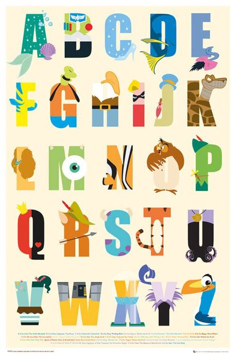Disney Character Letter N Best 25 Disney Alphabet Ideas On