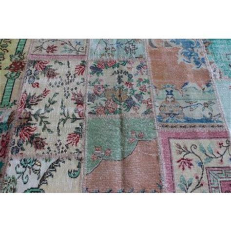 patchwork vloerkleed maken multicolour vintage patchwork karpet serozatapijten nl