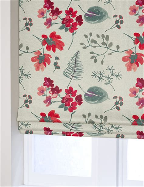 bold floral curtains curtain details for linen look bold floral red next