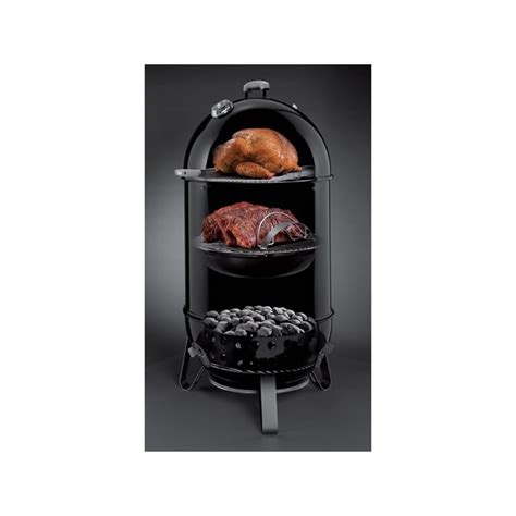 weber smokey mountain cooker 57 cm smoke box weber