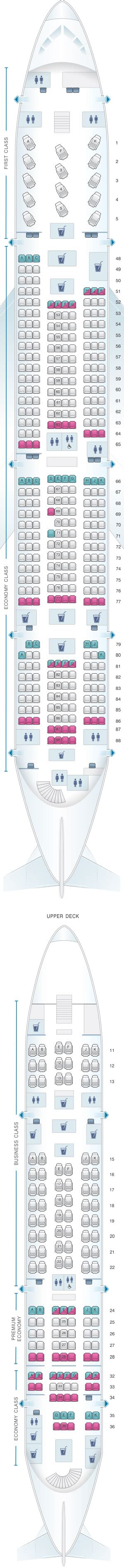 qantas a380 800 seating chart qantas a380 business class seating plan brokeasshome