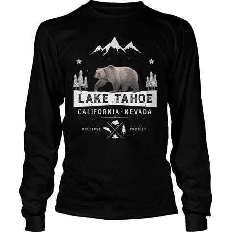 Hoodie Sweater Nevada lake tahoe california nevada shirt hoodie sweater