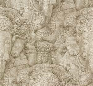 Rasch Wallpaper Rasch Wallpaper Crispy Paper Beige Ganesha 525519