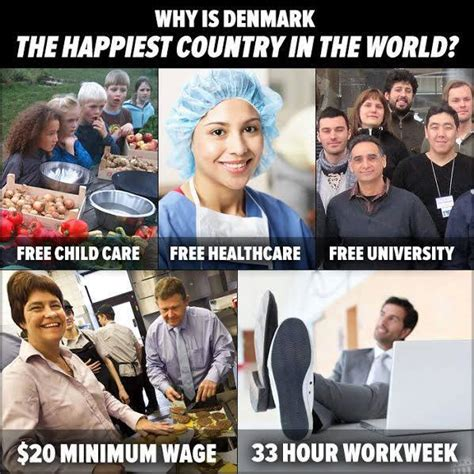 Denmark Meme - why is denmark the happiest country in the world