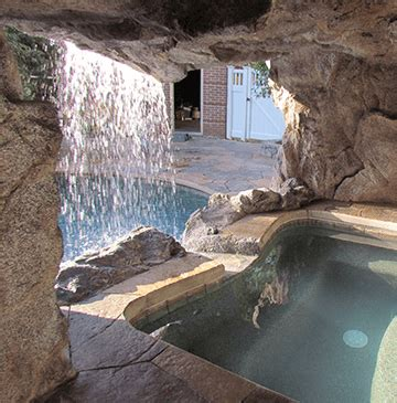 Designing Your Backyard Pool Grottos Amp Caves