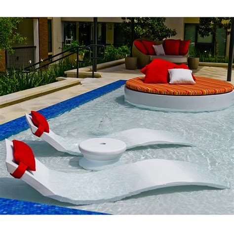 Pool Chairs And Lounges by Chaise Lounge Ledge Lounger Outdoor Lounges Pool