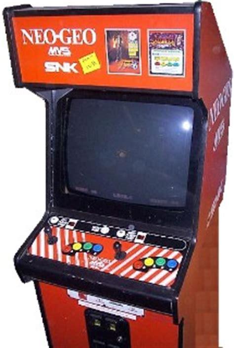 Neogeo Cabinet by Neo Geo Mvs Videogame By Snk