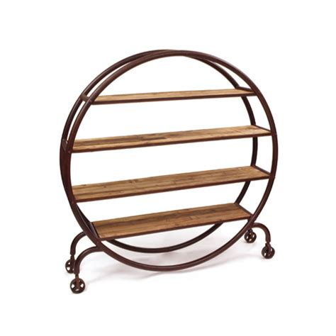 hudson goods industrial bookshelf look for less