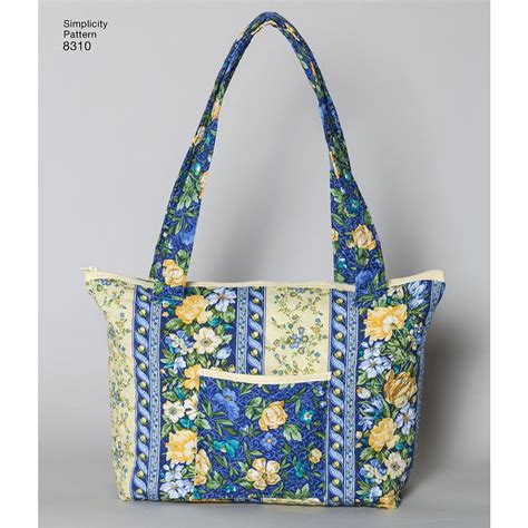 sewing patterns quilted bags quilted bags simplicity sewing pattern 8310 sew essential