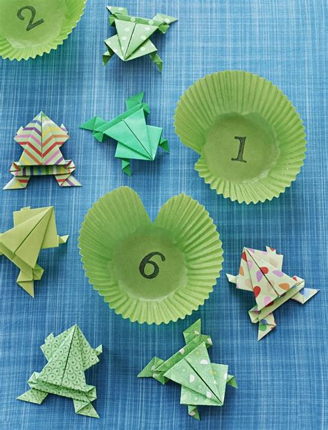 tutorial origami frog how to make a jumping origami frog parents