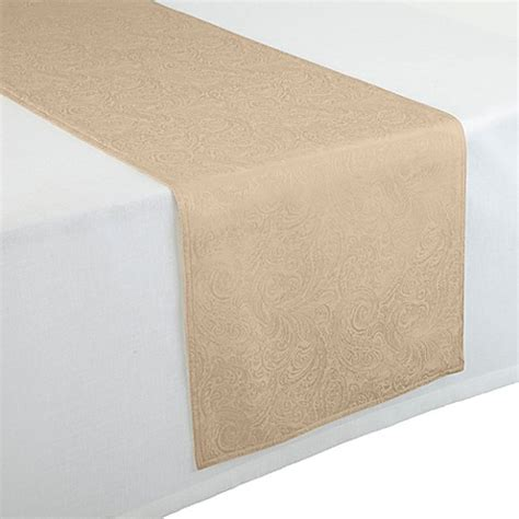 90 inch table runner waterford 174 linens 90 inch chelsea table runner bed bath