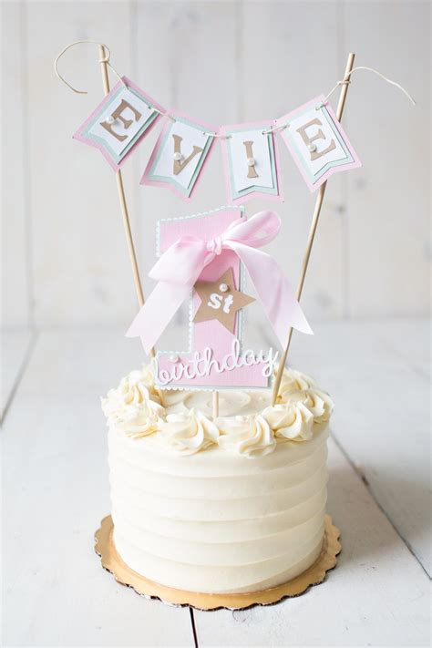 1st Birthday Cake by Birthday Cake Topper 1st Birthday