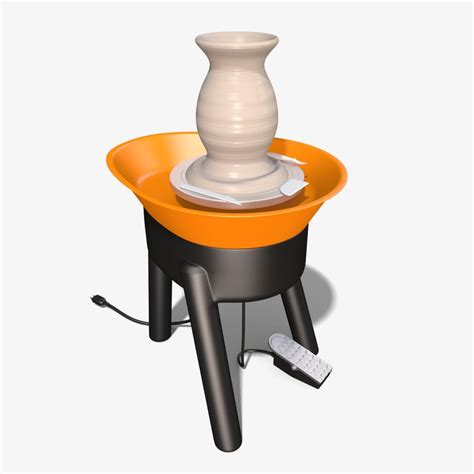 pottery wheel electric pottery wheel 3d obj