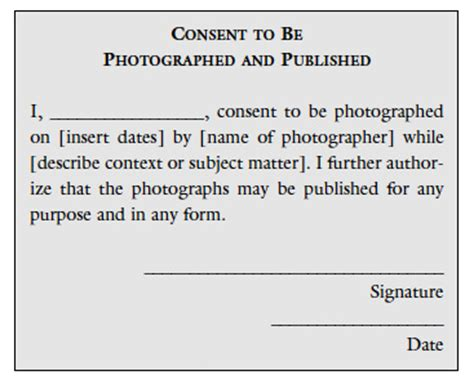 the role of permission in photography print
