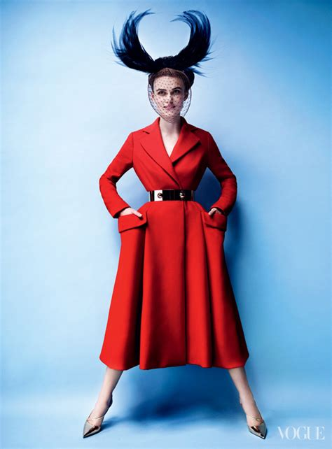 Keira Knightley In Vogue June 07 by Keira Knightley For Vogue Us October 2012