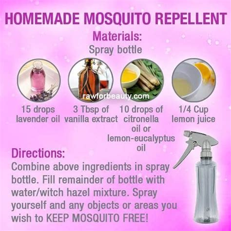natural mosquito repellents natural mosquito repellant health pinterest