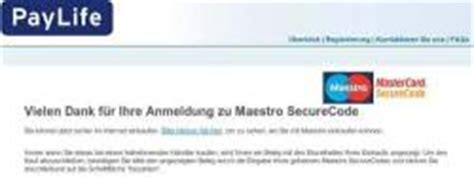 paylife bank wien l 252 cke im maestro securecode system c t