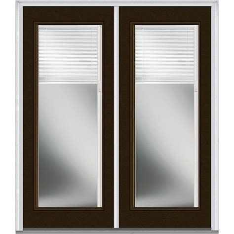Glass Front Door Shades Blinds Between The Glass Steel Doors Front Doors Doors The Home Depot