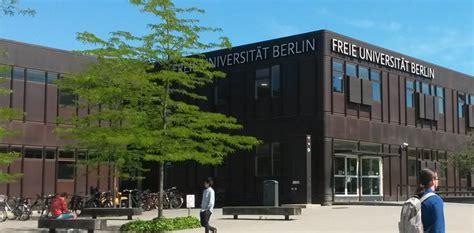 Fu Universitat Berlin Bewerbung Fubis Homepage