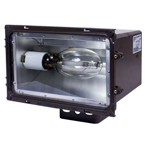 250 Watt Light Fixture Intermatic Fll Series 250 Watt Bronze Outdoor Hid Large Flood Lighting Fixture Fll250pql