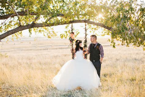 Wedding Photo Session by Bohemian Fall Bridal Session Ruffled