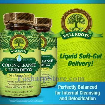 Well Roots Liver Detox Reviews by Well Roots Colon Cleanse Liver Detox 60 Liquid Softgels