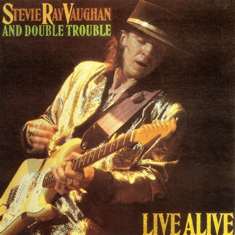 stevie ray vaughan double trouble  alive cd album discogs