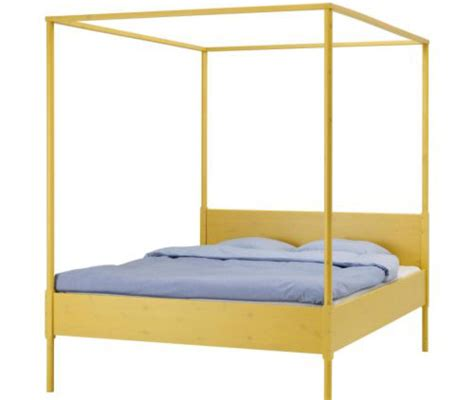 yellow bed frame the bed house home