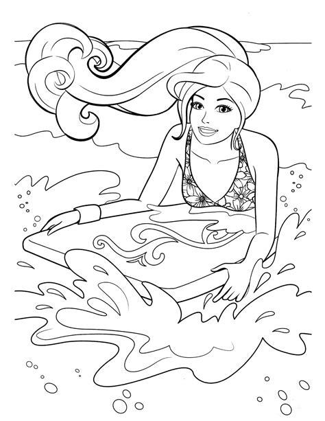barbie 23 coloringcolor com