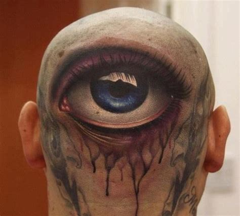 tattoo back turd tattoos of eyes for those who think they ve seen