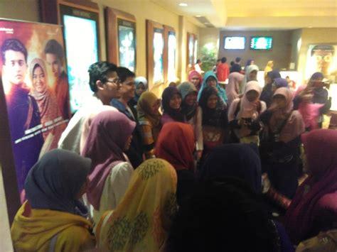 film bioskop hari ini di arion mall perdana diputar di lung film tausiyah cinta diserbu