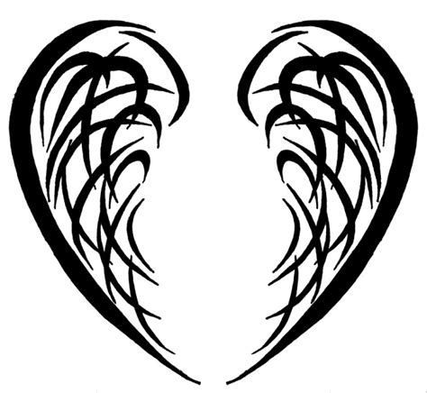 tribal wing tattoo designs tribal wings 2 by kavarria on deviantart