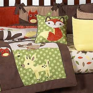 forest friends crib bedding set by sweet jojo designs 9