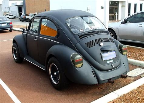 black volkswagen bug vw beetle in black darth vader s bug