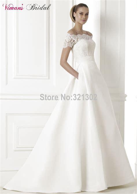Brautkleid Mit Taschen by Kaufen Gro 223 Handel Kurze Brautkleider Kleid Mit