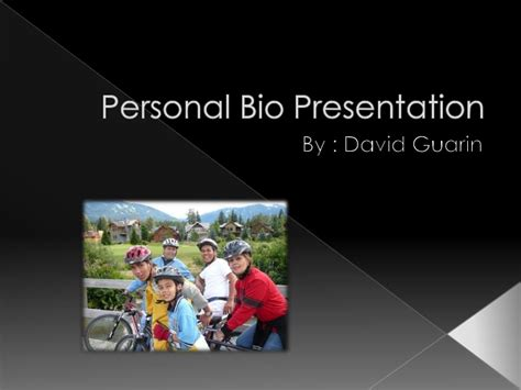 powerpoint biography template personal bio presentation