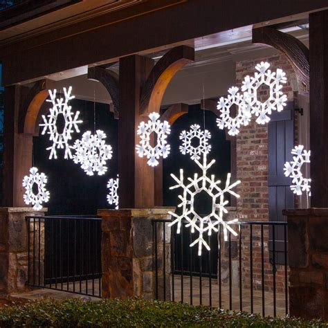 large outdoor snowflake decorations outdoor decorating ideas yard envy