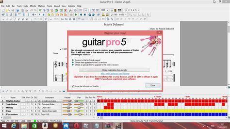 tutorial guitar pro 5 cara menginstal guitar pro 5 planet tutorial
