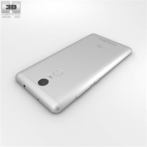 Xiaomi Redmi Note 3d xiaomi redmi note 3 silver 3d model hum3d
