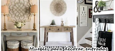 como decorar una entrada muebles para decorar la entrada de tu casa curso de